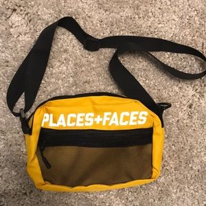 Other - Yellow places and faces bag